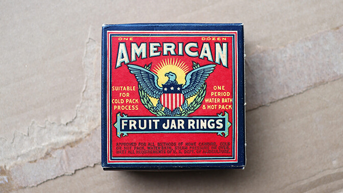 American Fruit Jar Rings