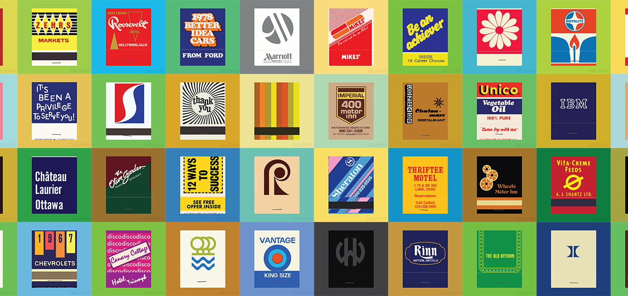The Matchbook Covers Side Project