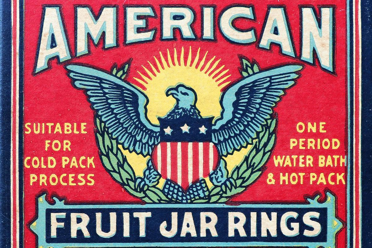 American Fruit Jar Rings
