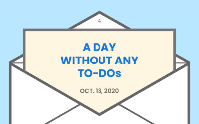 A day without any to-dos