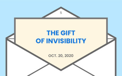 The gift of invisibility from Jon Acuff's book Quitter