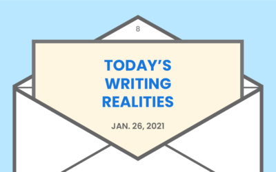 Today's writing realities